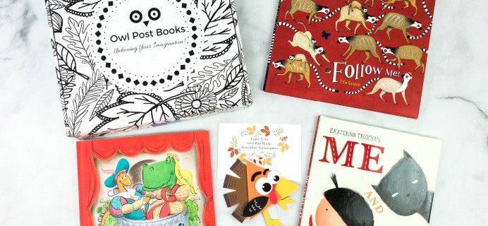 Owl Post Books Box Black Friday Deal: Get 25% Off!