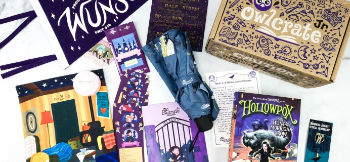 OwlCrate Jr. Limited Edition HOLLOWPOX Box Review
