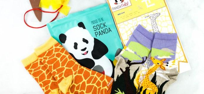 Panda Pals Kids Sock Subscription Review + Coupon –  November 2020