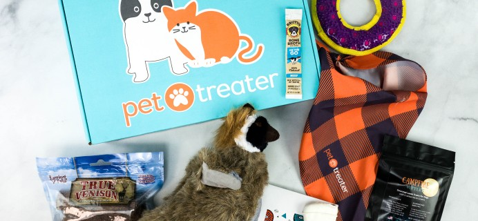 Pet Treater Deluxe Dog Pack Review + Coupon – November 2020