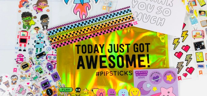 Pipsticks Kids Club Classic November 2020 Subscription Box Review + Coupon!
