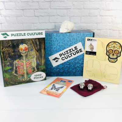 Puzzle Culture Fall 2020 Subscription Box Review + Coupon