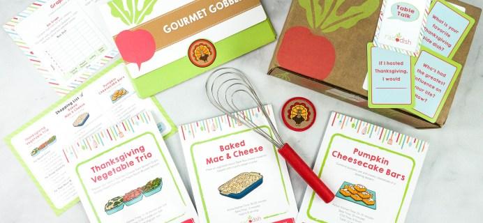 Raddish Kids Cooking Subscription Box Review + Coupons – November 2020