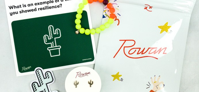 Rowan Earring Club November 2020 Subscription Box Review