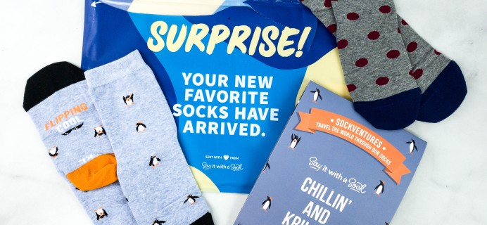 Say It With A Sock Kids October 2020 Sockscription Review + Coupon