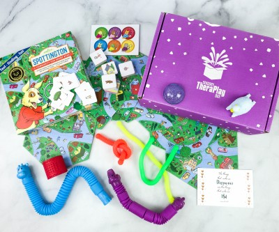 Sensory TheraPLAY Box Review + Coupon – November 2020