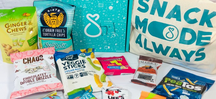 SnackSack November 2020 Subscription Box Review & Coupon – Classic