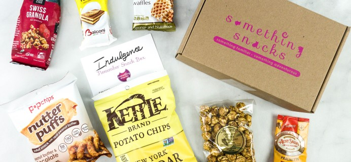 Something Snacks November 2020 Subscription Box Review + Coupon