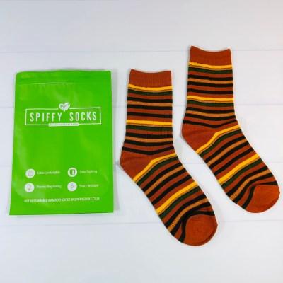 Spiffy Socks November 2020 Subscription Box Review  + Coupon