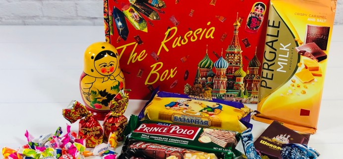 The Russia Box November 2020 Subscription Box Review + Coupons