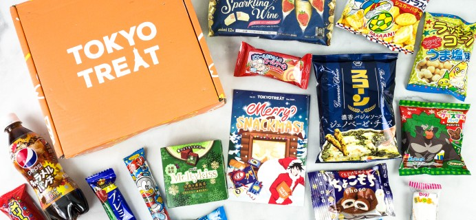 Tokyo Treat December 2020 Subscription Box Review + Coupon