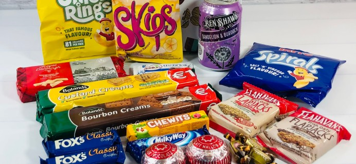Try My Snacks Subscription Box Review: October 2020 IRELAND