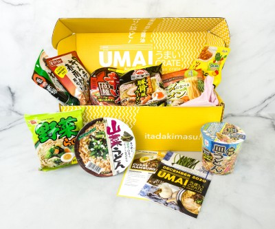 Umai Crate December 2020 Subscription Box Review + Coupon