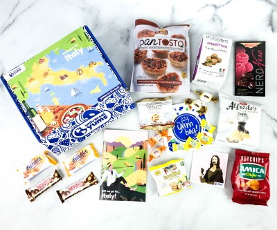 Universal Yums Subscription Box Review + Coupon – ITALY