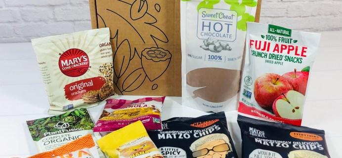 Vegancuts Snack Box Review + Coupon – November 2020