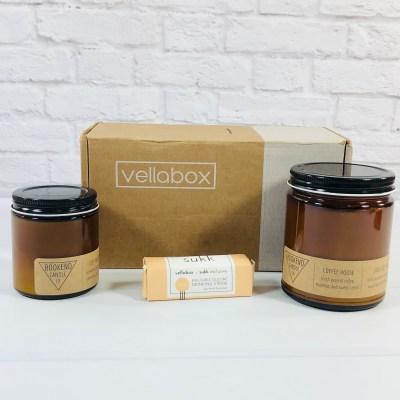 Vellabox Candle Subscription Box Review + Coupon – November 2020