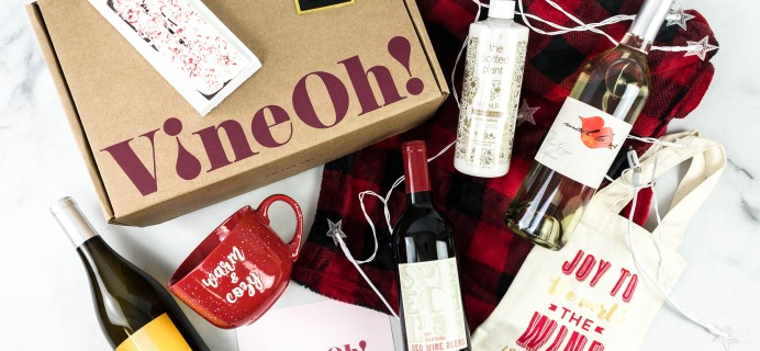 VineOh! Box Cyber Monday Coupon: FREE Wine for Life + FREE Tote or Bonus Wine + FREE Shipping!