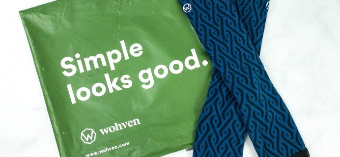 Wohven Socks Subscription October 2020 Review + Coupon!