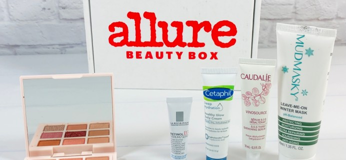 Allure Beauty Box December 2020 Review & Coupon