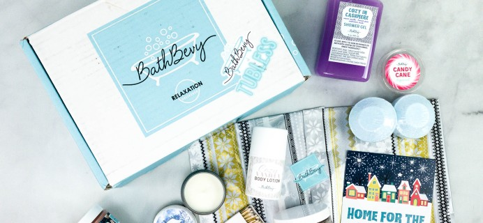 Bath Bevy Review + Coupon – December 2020 THE TUBLESS BOX