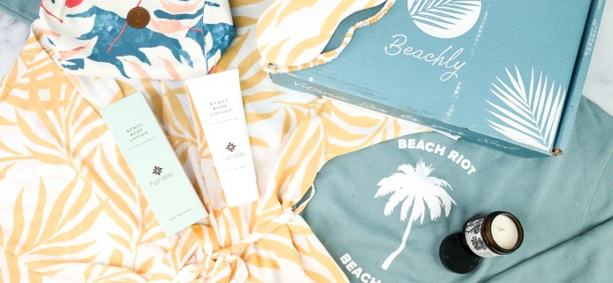 Beachly Women's Box Winter 2020 Subscription Box Review + Coupon!