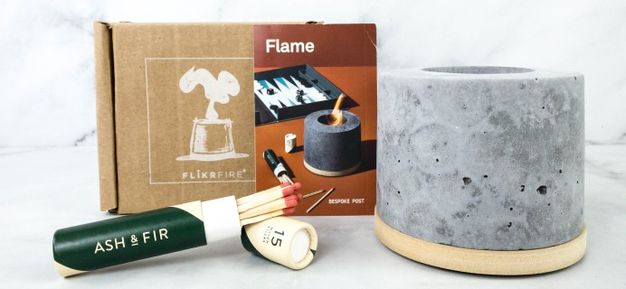Bespoke Post FLAME Review & Coupon – December 2020
