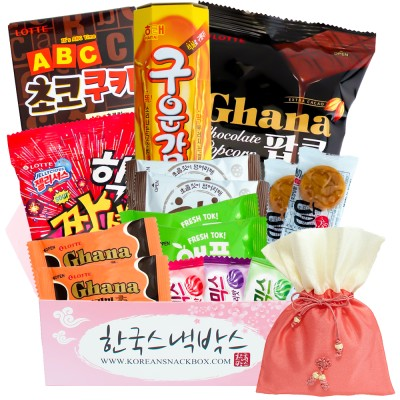 Korean Snack Box December 2020 FULL Spoilers + Coupon!