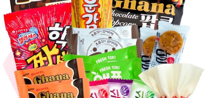 Korean Snack Box December 2020 FULL Spoilers + Coupon!