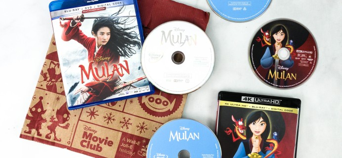 Disney Movie Club MULAN Review + Coupon
