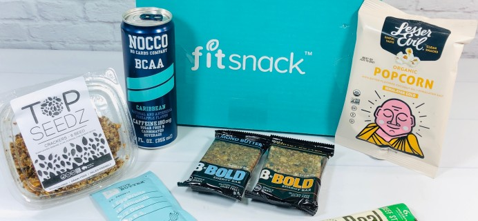 Fit Snack November 2020 Subscription Box Review