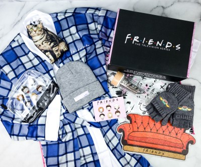 FRIENDS Subscription Box Winter 2020 Review!