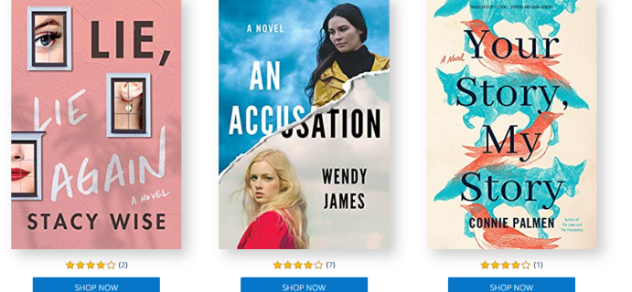 Amazon First Reads December 2020 Selections: 1 Book FREE for Amazon Prime Members