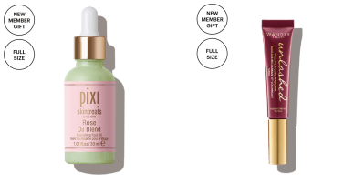 Allure Beauty Box Coupon: FREE Pixi Rose Oil Blend & Wander Mascara!