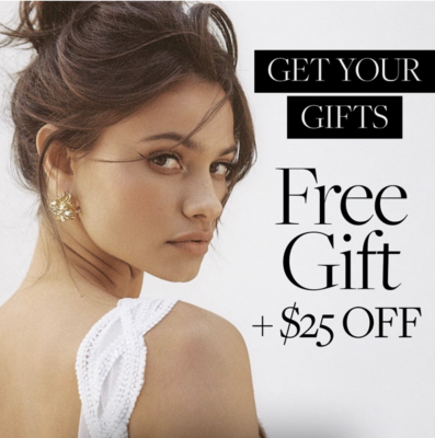 CURATEUR Deal! FREE Amber Sceats Earrings + $25 Off!