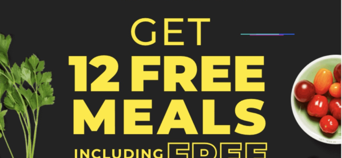 Hello Fresh Cyber Monday Deal EXTENDED: Get 12 Free Meals In Your First Five Boxes!