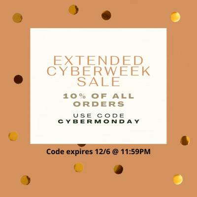 EXTENDED My Texas Market Cyber Week Sale: Get 10% Off All Orders!