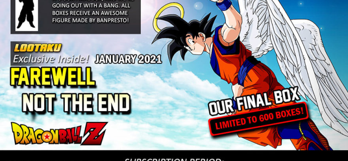 Lootaku Subscription Update + January 2021 Theme Spoilers!