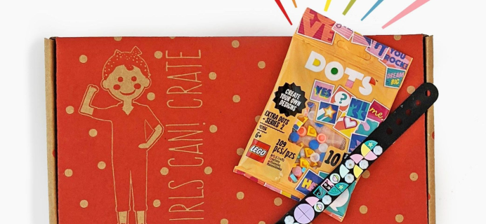 Girls Can! Crate Holiday Sale: FREE LEGO DOTS With Your First Box!