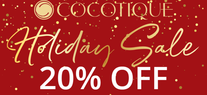 Cocotique Holiday 2020 Sale: Get 20% Off ALL Subscriptions & Past Boxes!