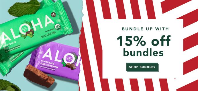 ALOHA Sale: Get 15% Off On Bundles & More!