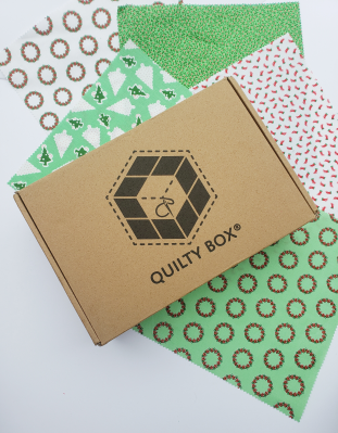 Quilty Box 2020 Christmas Candy Cane Lane Bundle Available Now!