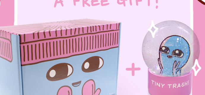 Strange Planet Box Deal: Free Snow Globe With Subscription!