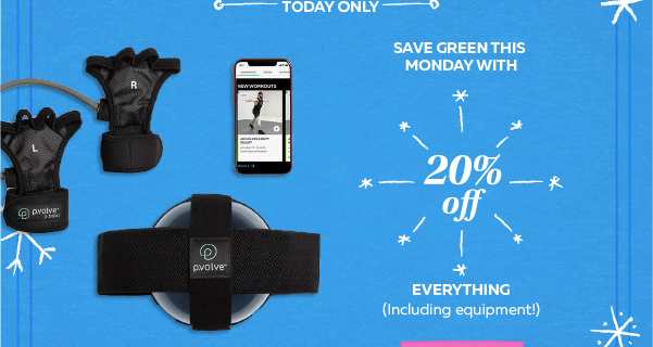 P.volve Green Monday Deal: Get 20% Off Sitewide!