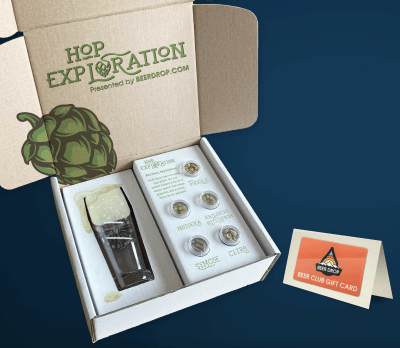 Beer Drop Hop Exploration Box Is Here For Dads Who Love Beer: FREE With Gift Card Purchase!