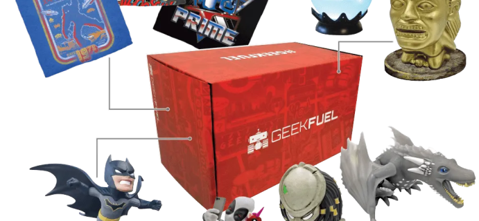 Geek Fuel January 2021 Full Spoilers!