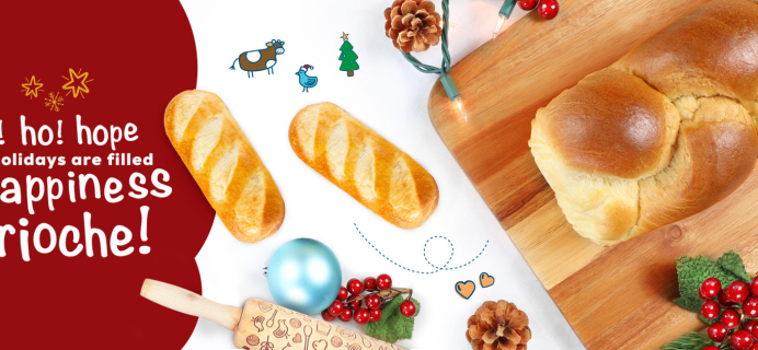 Bakerly Holiday Deal: Get $5 Off On Any $25+ Brioche Purchase!