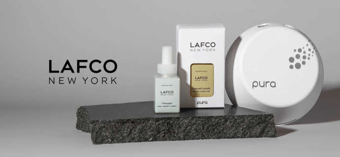 Pura LAFCO New York Fragrance Available Now + Coupon!