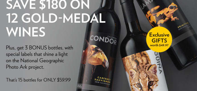 Nat Geo Wines of the World Coupon: Save Up To $180!