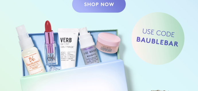 Birchbox Coupon: FREE Bauble Bar Bundle With Subscription!
