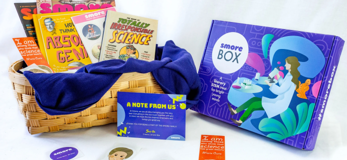 Smore Box – Review? Literary STEM Subscription!